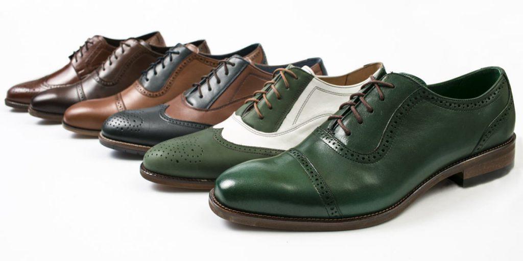 Modne buty brogsy tzw. szkoty